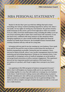 Grad School Essay Examples Pin On Mba Personal Statement Sample