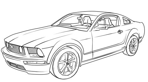 car coloring pages coloringpages