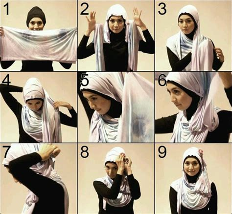 amazing hijab styles step  step  craft