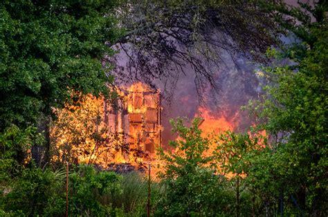fire burns abandoned hospital  fort chaffee