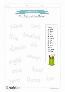 Farben Auf Englisch : neu ein kostenloses englisch arbeitsblatt zum thema zahlen numbers f r die grundschule auf ~ Orissabook.com Haus und Dekorationen