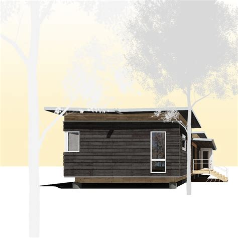 passive prefab house kit cabin attitude   city