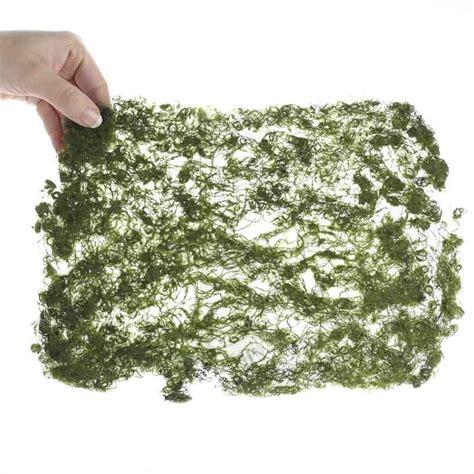artificial moss sheet fairy garden miniatures