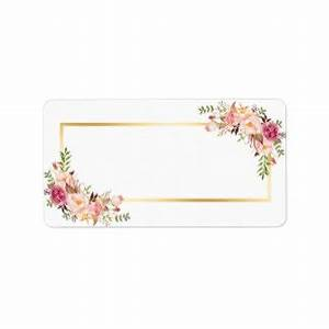 flower tags template free - black and white floral blank tag pictures to pin on