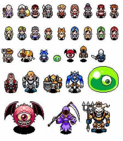 Pixel Character Sprite Robertson Paul Characters Games