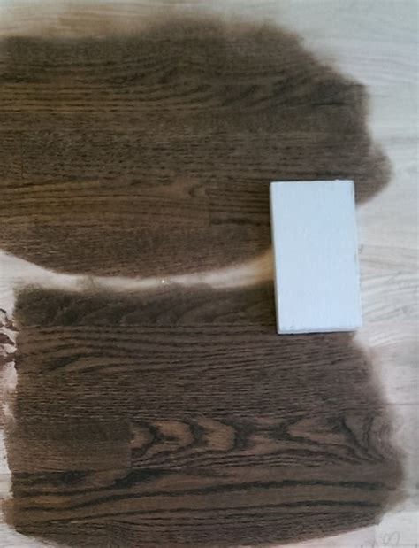Stain Mixing: Jacobean   either Red Oak or English Chestnut?
