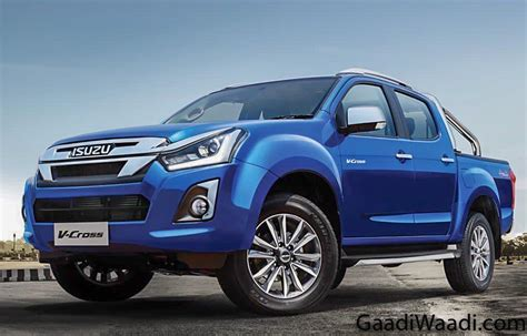 Isuzu D Max 2019 by 2019 Isuzu D Max V Cross Facelift Launched In India At Rs