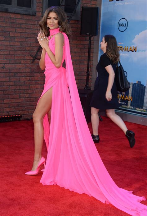 zendaya spider man homecoming premiere  hollywood