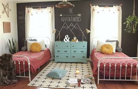 Teen Girls' Room Reveal {a Boho Inspired Makeover}