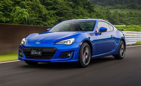 subaru brz first drive 2017 subaru brz review car and driver