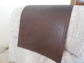 chair caps headrest pads recliner hd covers by stitchnart on etsy