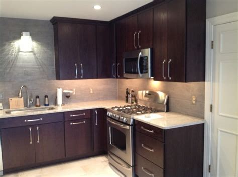 backsplash for kitchen another view of the amazing kitchen norcraft rohe door 1420