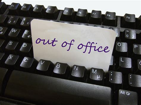 outlook message absence bureau out of the office 39 s ccas info updates