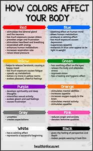 How Colors Affect Your Body - Eye Opening Info | Eye ...