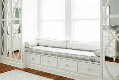 Window Seat Bedroom Built Master Wardrobe Cushion
