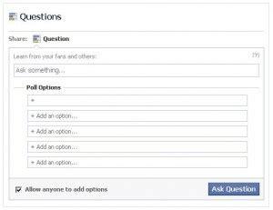 how to set up a survey on facebook dex media