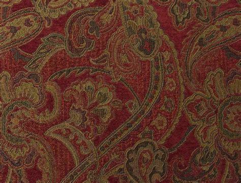 Paisley Uholstery Fabric