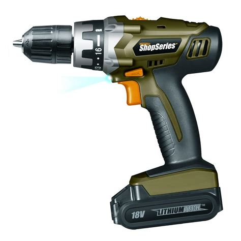 rockwell  volt lithium cordless drill ss  home