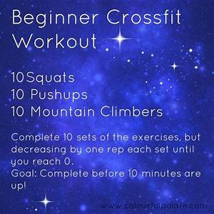 Beginner Crossfit Workouts  Workout And Crossfit On Pinterest