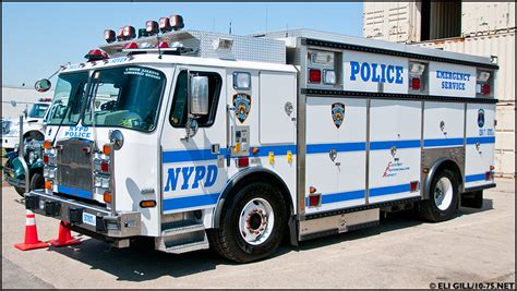 nypd equipment section ny nypd ess heavy rescue