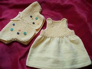 modele tricot robe layette gratuit tricot pinterest With robe tricot bébé