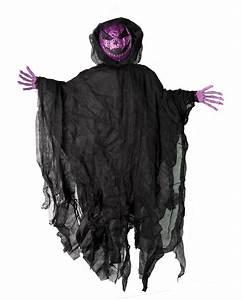 Halloween Deko Kaufen : violettes glitter k rbis gespenst 90 cm kaufen karneval ~ Michelbontemps.com Haus und Dekorationen