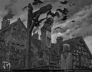 Ravens at the Gibbet – Ted Nasmith  The