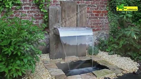 cascade d eau murale comment installer une fontaine de jardin jardinerie truffaut tv 2016 09 05