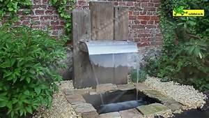 Fabriquer Une Fontaine Sans Pompe : comment installer une fontaine de jardin jardinerie truffaut tv youtube ~ Melissatoandfro.com Idées de Décoration