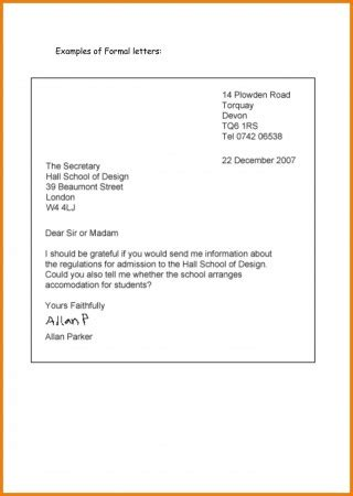 business letter letters  spanish closings
