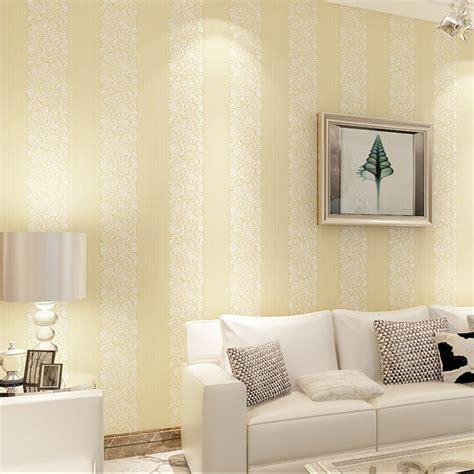 modern minimalist bedroom  vertical stripes  woven