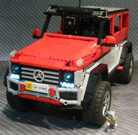 lego mercedes lego mercedes g500 4x4 178 by zblj lego technic vehicles