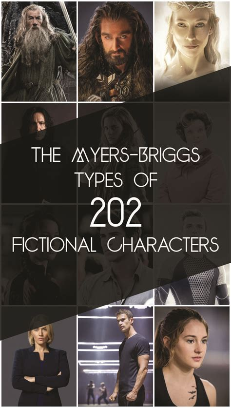 myers briggs types   fictional characters book riot