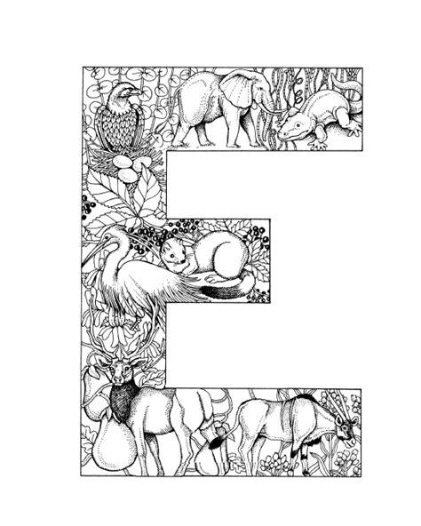 Kleurplaat Mandala Letter D by Mandala Coloring Pages Letter E