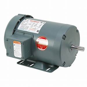 1 Hp 1800 Rpm 230  460 Volt Ac 3ph 56 Leeson Motor