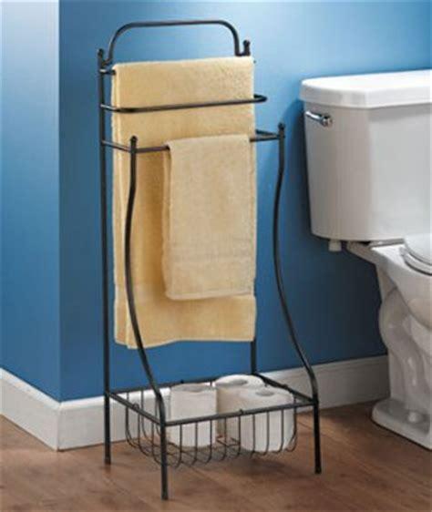 Bathroom Floor Towel by Black Color Floor Standing Towel Rack For Bathroom