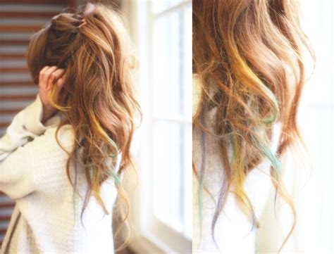 light brown hair chalk hair chalk for any hair color