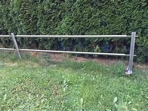 gartenzaun aus edelstahl in filderstadt sonstiges fur With französischer balkon mit gartenzaun pfosten setzen