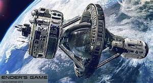 Futuristic Space Station Artwork - Pics about space