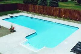 Swimming Pool Design Shape Shaped In Ground Swimming Pool Photos