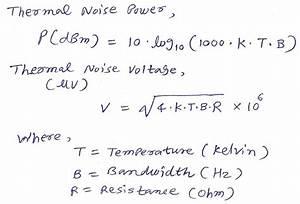 thermal noise floor calculator thefloorsco With noise floor calculator