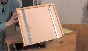 Installing Under-Mount Drawer Slides - Woodworking Blog