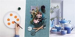 30 DIY Pour Customiser Sa Vaisselle Marie Claire