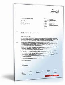 Formulierung Rechnung : k ndigung vorlagen arbeitsvertrag kostenlos k ndigung vorlage ~ Themetempest.com Abrechnung