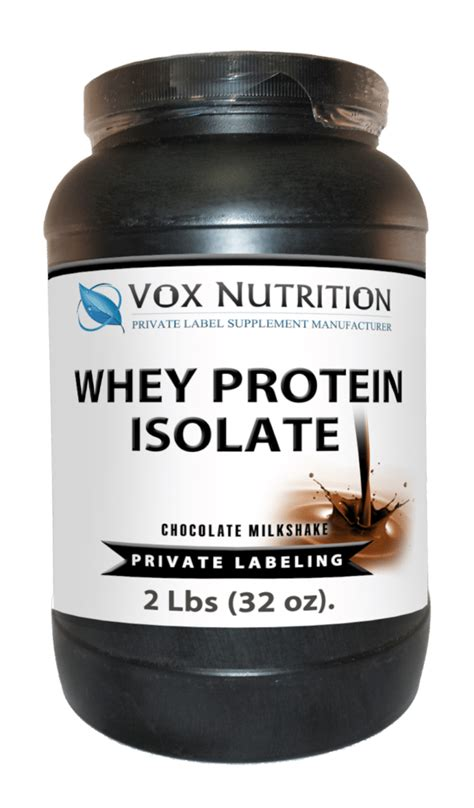 private label whey protein isolate powder sports