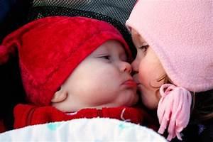 Baby kiss cute child kids mood love f wallpaper ...