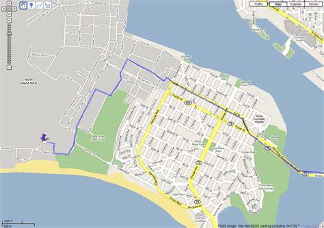 Coronado Nas North Island Map