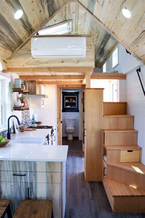 kootenay tiny house stairs tiny house loft tiny house interior design