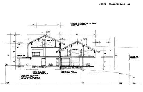 plan de coupe de maison coupe with plan de maison 200m2