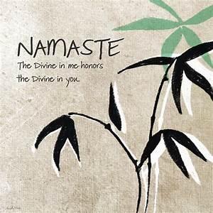 Namaste Painting by Linda Woods